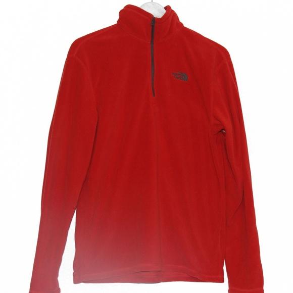 f6656571a The North Face | Red Fleece Half Zip